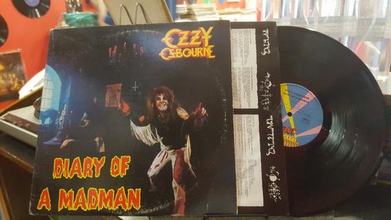 Ozzy Osbourne Diary Of Madman Lp Disco Vinilo Usa Ex+