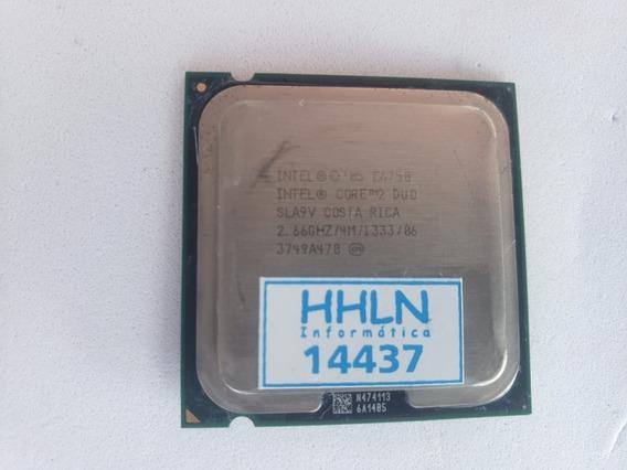 Processador Intel ® Core 2 Duo E6750 4 M 2,66 Ghz - 14437