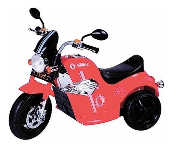 Moto A Bateria 3 Ruedas Juguete Niño 20kg 6v Love 3004 Luces