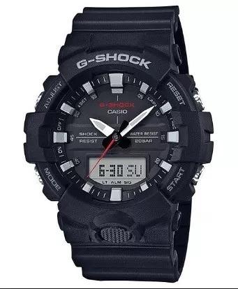 Relógio Casio G-shock Ga-800 1a Preto Lançamento Ga 800