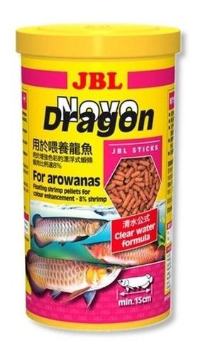 Imagem 1 de 3 de Ração Jbl Novo Dragon Shrimp 440g - Para Aruanãs