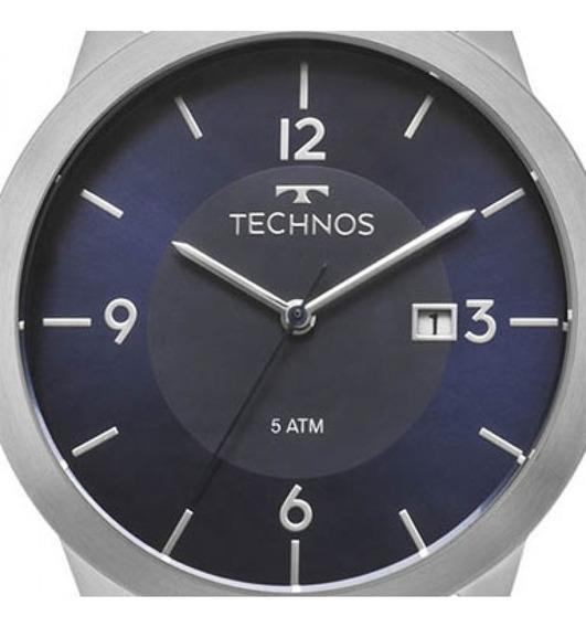 Relogio Technos Masculino Classic Couro - 2115mog/0a