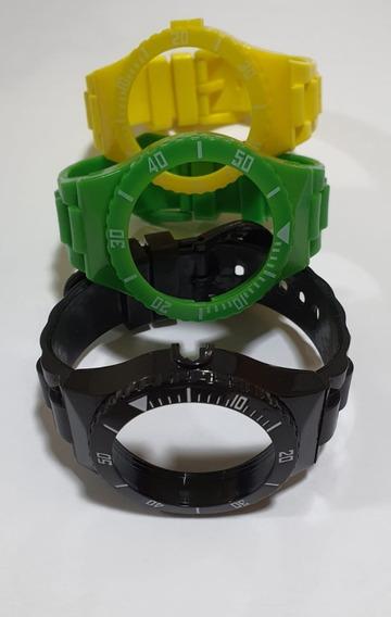 3 Pulseiras Relógio Champion Cp30119x E Outros
