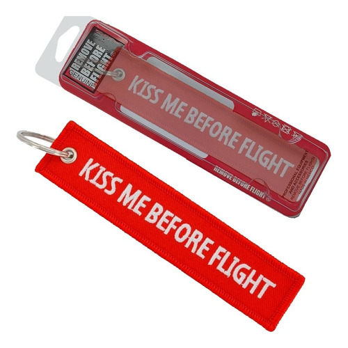 Llavero  Kiss Me Before Flight - Remove Before Flight ®