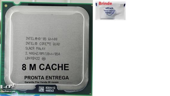 Processador Intel 775 Core 2 Quad Q6600 2.40ghz Semi Novo