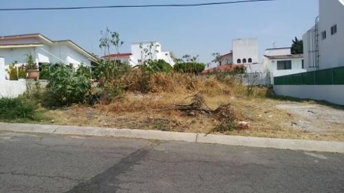 Terreno En Lomas De Cocoyoc