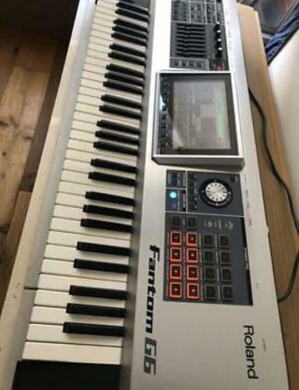 Teclado Roland Fantom G6 Music Workstation