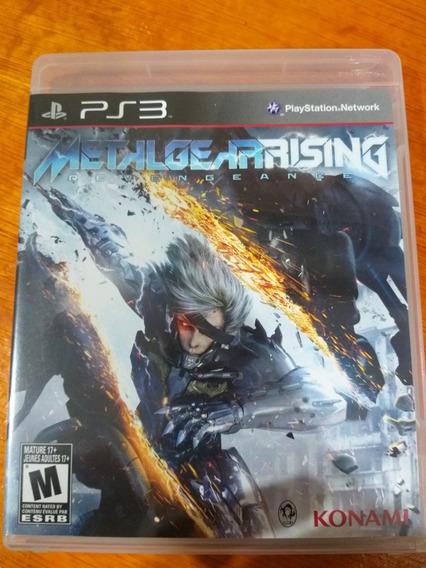 Metal Gear Rising Revengeance Ps3 Midia Fisica