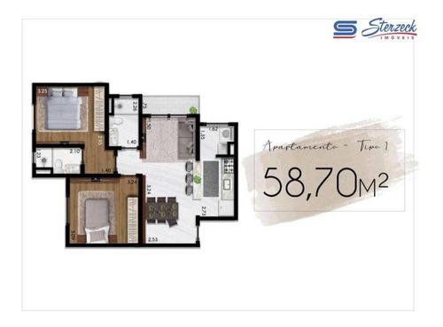 Imagem 1 de 30 de Apartamento Com 2 Dormitórios À Venda, 58 M² Por R$ 272.000 - Pinheirinho - Vinhedo/sp - Ap0463