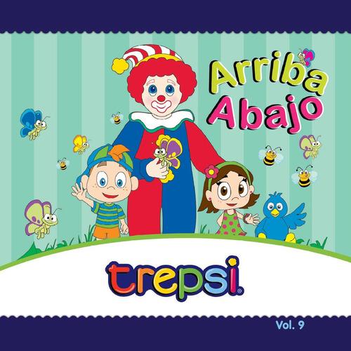 Cd Vol 9 Trepsi Musica Infantil Niños Arriba Y Abajo
