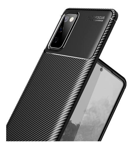 Forro Antigolpe Fibra Carbono Samsung S20 Fan Edition