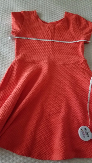 Vestido Zara Talle 12 Coral