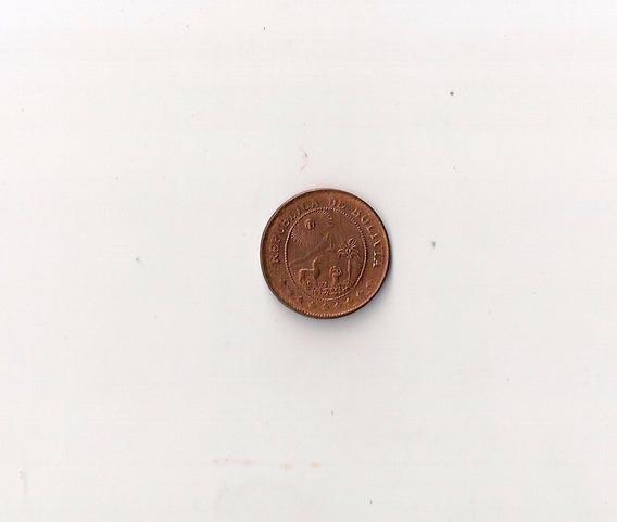 Bolivia Moneda De 50 Centavos Año 1942