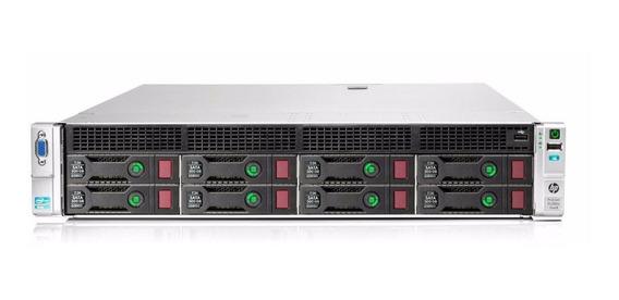Servidor Hp Proliant Dl380e G8 Com 1x Xeon E5-2403 Quadcore 10mb Cache 4gb Ddr3 Não Possui Discos Rígidos 100% Funcional