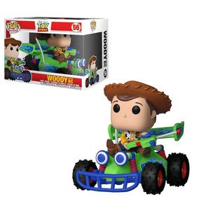 Funko Pop Disney: Toy Story - Woody With Pop Rc Ride #56