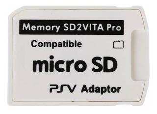 Adaptador De Memoria Micro Sd Para Ps Vita Sd2vita Nuevo