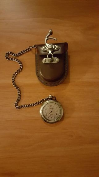 Reloj De Bolsillo Vintage Fiorum Quartz