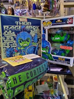 Funko Pop Caja Hulk Con Remera Talle S