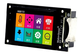 Display Impressora 3d Mks Tft24 V1.1 Touch +sensor Filamento