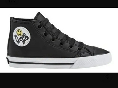 Zapatillas Topper Rail Hi Ramones Kids - Usadas T 26