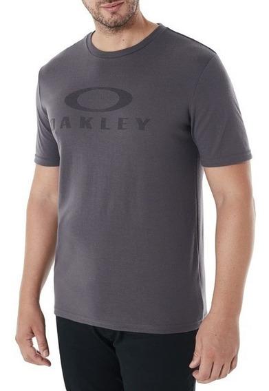Playera Oakley O Bark Logo Hombre Original Moda