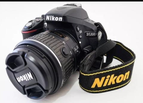 Nikon D5300 Apenas 25k + Lente 18-55mm Oportunidade
