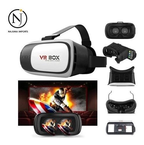 Lentes Gafas De Realidad Virtual Vr Box Celular 360°