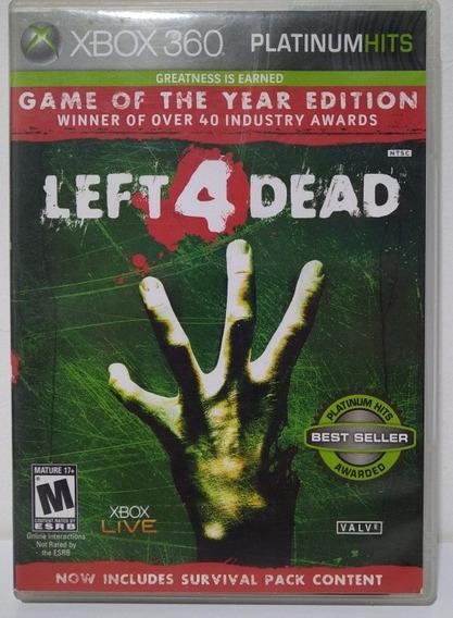 Left 4 Dead Xbox 360 Mídia Física Original Cd