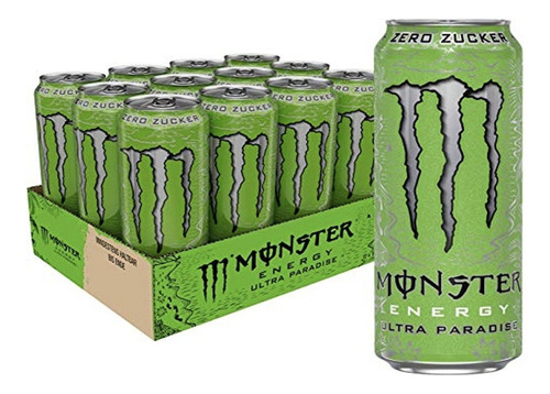 Monster Energy Ultra Paradise 473ml (12 Unidades)