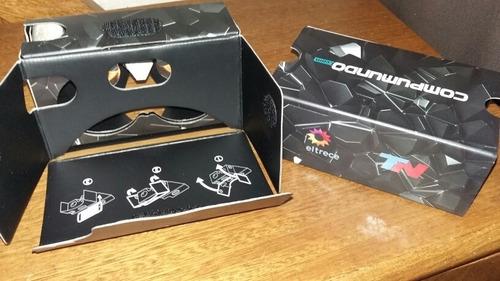 Visor Realidad Virtual Cartón Compumundo Tn