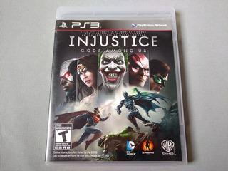 Injustice Gods Among Us Original Para Ps3