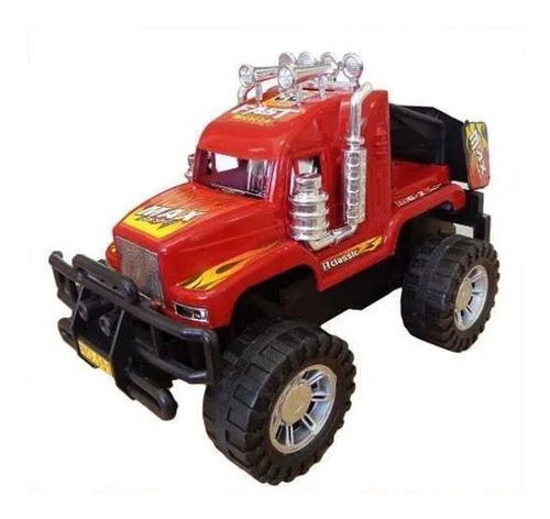 Imagen 1 de 7 de Camion Monster A Friccion Juguetes Niños Envio Gratis