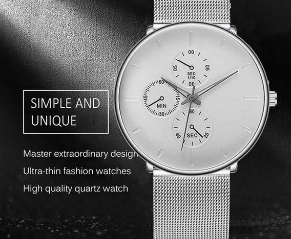 Relógio De Pulso Fashion Business
