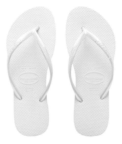 Havaianas Sandalias Mujer - Slim White