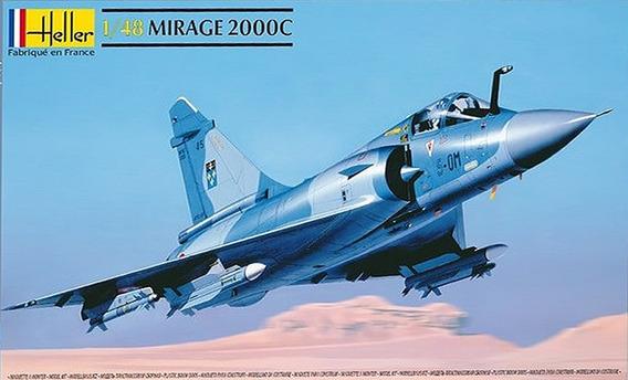 Avião Mirage 2000c Heller 1/48 Faz Fab Kit Tipo Revell