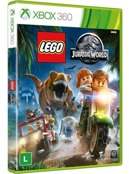 Xbox 360 Lego Jurassic World Mídia Física Lacrado Em Português