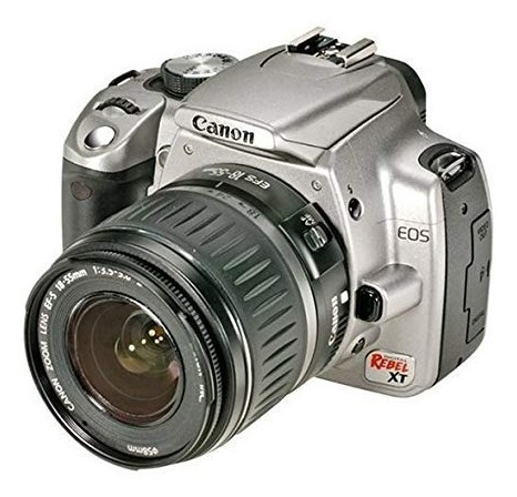 Camara Canon Eos Digital Rebel Xt Silver Con Accesorios
