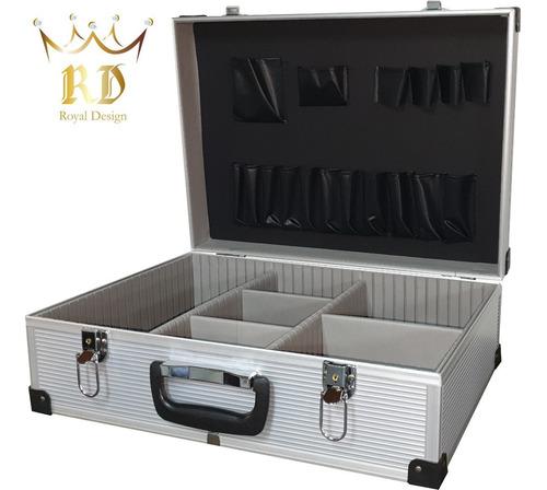 Imagen 1 de 2 de Maletín Aluminio * Reforzado* Caja Porta Herramientas Nro 3