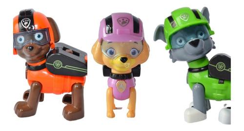 Patrulla Canina Set Figuras Articuladas 3 Unidades