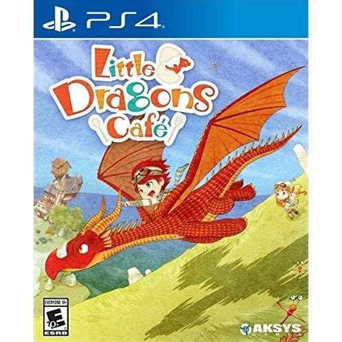 Little Dragons Cafe Ps4 Midia Fisica