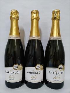 Espumante Garibaldi Kit 3 Vero Demi-sec 750 Ml+nota Fiscal