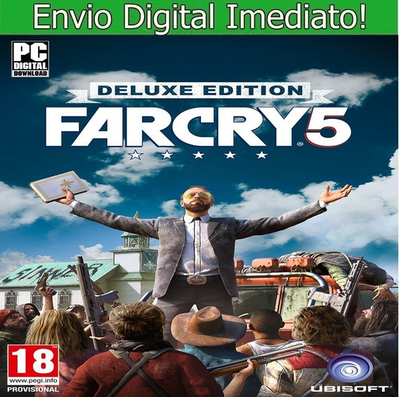 Far Cry 5 Pc Hd Envio Imediato.