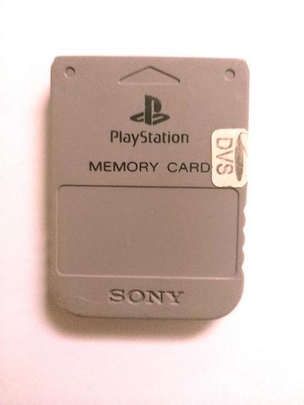 Playstation 1 - Memory Card Cinza Playstation 1 Fat B
