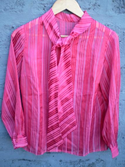Camisa Raso Vintage