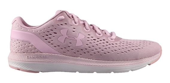 Tenis Under Armour Correr Charged Impulse Mujer Rosa
