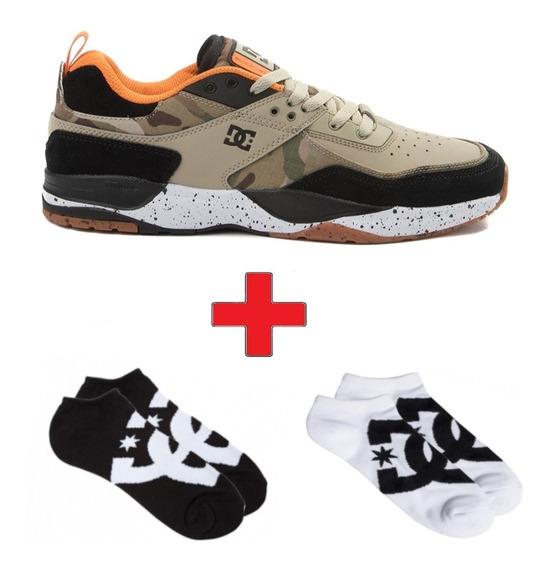 Combo Zapatillas Dc Tribeka Y Sock Dc Pack X2