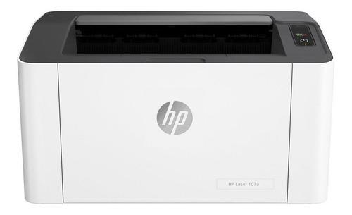 Impresora HP LaserJet 107A 110V/240V blanca y negra