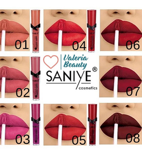 Paquete Lip Gloss Saniye