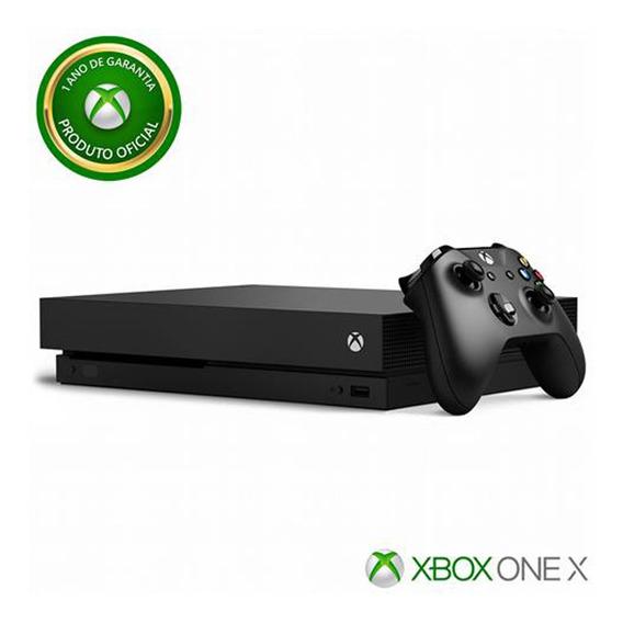 Console Microsoft Xbox One X 1tb 4k Hd