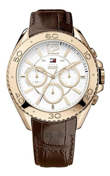 Belíssimo Relógio Tommy Hilfiger Original.